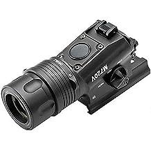 Worldshopping4U linterna táctica versión actualizada 100% nuevo m720V arma CREE Luz Airsoft Negro negro