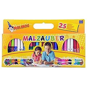 Malinos 300029 25pieza(s) rotulador - Juguete de Pintura, 21 Colores, 3 año(s), 25 Pieza(s)