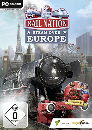 Rail Nation - Steam Over Europe [Importación Alemana]