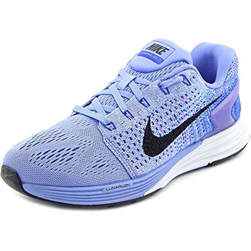 Nike Damen Wmns Lunarglide 7 Laufschuhe, Azul (Chalk Blue/Black-RCR Bl-Bl TNT), 37 1/2 EU (Jordan Retro 3 Sport Blue)