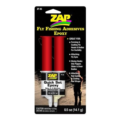 ZAP 5 Minute Quick Set Epoxy ::: Fly Fishing/Tying Adhesives Epoxy (Epoxy Quick Set)