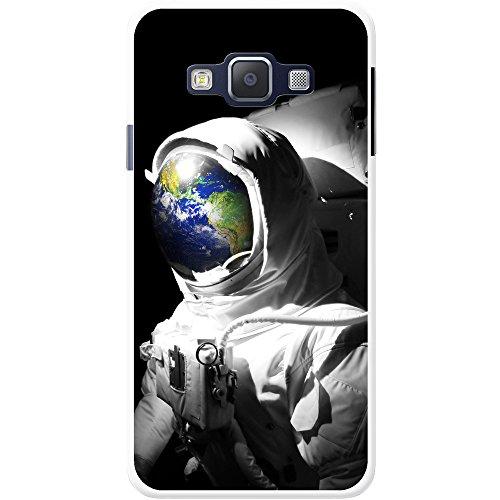 Astronautenanzug & Spiegelbild der Erde Hartschalenhülle Telefonhülle zum Aufstecken für Samsung Galaxy A3 (A300F/FU)