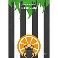 POSTERLOUNGE Poster 30 x 40 cm: No531 My Beetlejuice minimal movie poster by chungkong art print, new art poster