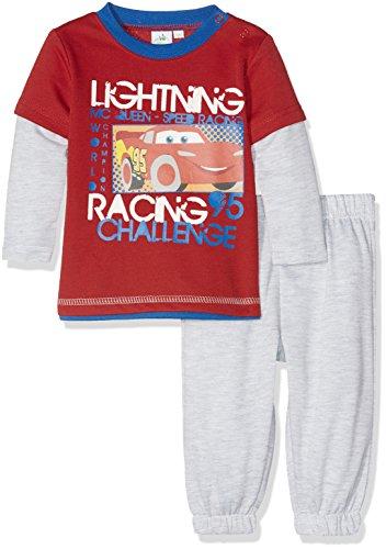 Disney Cars - Tuta jogging neonato (18 mesi, rosso)