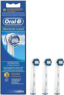 Oral-B - Pack de cabezales para cepillos de dientes recargables