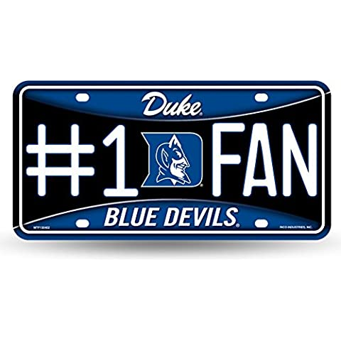NCAA Duke Blue Devils #1 Fan Metal Tag