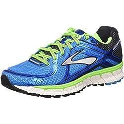 Brooks Adrenaline GTS 16 M, Zapatillas de Running para Hombre, Methyl Blue/Green Gecko/Black, 43 EU