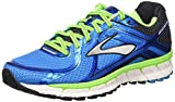 Brooks Adrenaline Gts 16 M Scarpe da corsa, Uomo, Multicolore (Methyl Blue/Green Gecko/Black), 42