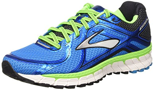 Brooks Adrenaline Gts 16 M, Zapatillas de Running para Hombre, Methyl Blue/Green Gecko/Black, 43 EU