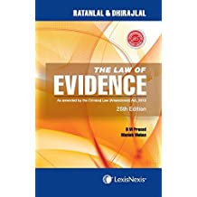 The Law Of Evidence–As Amended By The Criminal Law (Amendment) Act, 2013