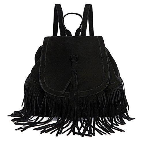 Fletion, Borsa a zainetto donna Black