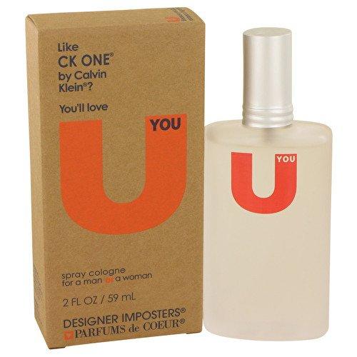 Parfums De Coeur Designer Imposters U You by Cologne Spray (Unisex) 2 oz / 60 ml (Women) -