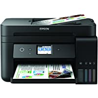 Epson EcoTank ET-4750 Refillable Ink Tank Wi-Fi Printer, Scan and Copier and Fax with 3 years worth of ink