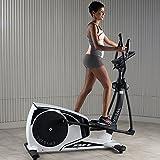 BH Fitness Crosstrainer Ellipsentrainer CRYSTAL-18 kg Schwungmasse-bis 150 kg Nutzergewicht-Pulsprogramme-Wattprogramm-24 Widerstandsstufen-G2381 - 3