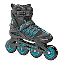 Roces Damen Inline-skates Argon W, black azure, 38