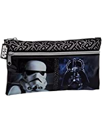 Star Wars 4234051 Neceser de Viaje, Color Negro