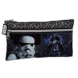 Star Wars 4234051 Neceser de Viaje, Color Negro