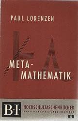 Meta-Mathematik.