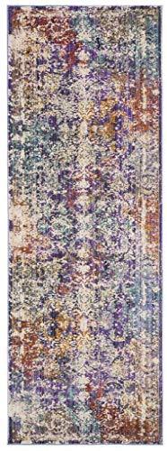 Safavieh Vintage Area Teppich Variation Familie: 4354-P Transitional 3' x 8' Lavender/Ivory -