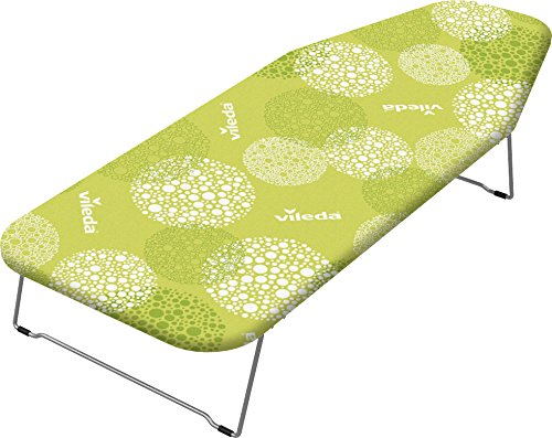 Vileda Mini Planche à Repasser Carino - Surface XS : 100x38cm - à Poser sur la Tabl