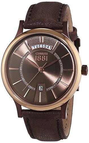 cerruti-1881-seores-reloj-analgico-de-cuarzo-cuero-varallo-cra128sbrr12br