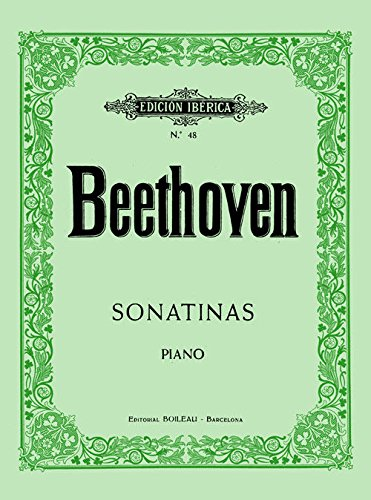 6 Sonatinas: para piano por Ludwig van Beethoven