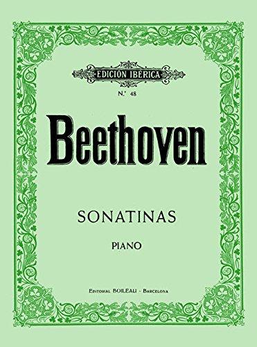 6 Sonatinas: para piano