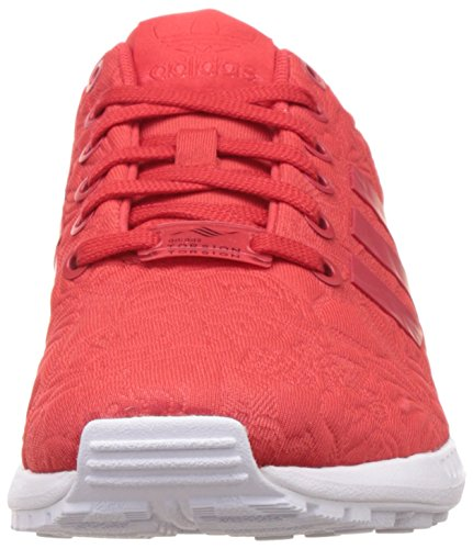 adidas Zx Flux, Chaussures de Running Entrainement Mixte Adulte Rouge (Vivid Red/Vivid Red/Core Black)