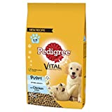 Pedigree Puppy Medium Dog Complete Dry with Chicken and Rice, 10 kg