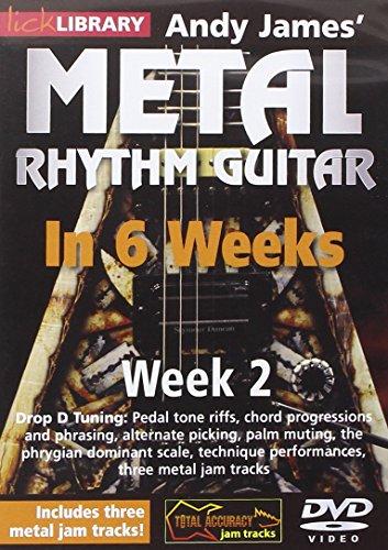 Preisvergleich Produktbild Metal Rhythm Guitar in 6 Weeks - Week 2