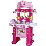 Infantastic Kinderküche Spielküche mit Licht- und Soundeffekten inkl. Zubehör
