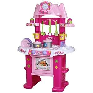 infantastic jeu d 39 imitaion cuisine enfant effets sonores et lumineux set d 39 accessoires. Black Bedroom Furniture Sets. Home Design Ideas