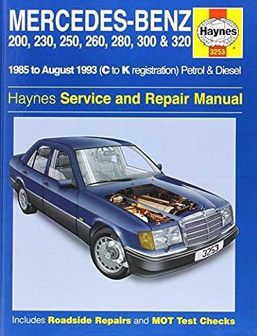 Mercedes Benz 124 Series (85-93) Service and Repair