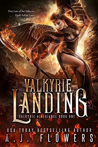 Valkyrie Landing: YA Fantasy Romance (Valkyrie Allegiance Book 1) (English Edition)