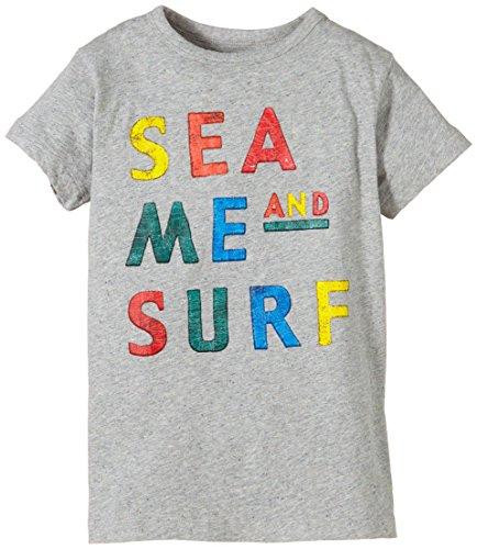 b95a93094b4 REPLAY Shirt, Camiseta para Niños, Grün (Grey Melange Medium M15), 8