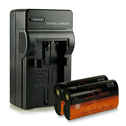caricatore-2x-extremewolf-batteria-klic-8000-per-kodak-easyshare-z612-z712-is-z812-is-z1012-z1012-is
