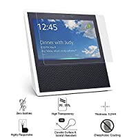 Screen Protector for Amazon Echo Show (1-Pack) ,Tempered Glass Screen Protector for Amazon Echo Show Ultra Clear Anti-scratch and Bubble Free