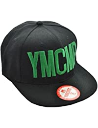 Ymcmb - Casquette Ymcmb officiel noire avec logo vert - taille unique