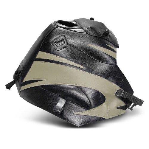 Tankschutzhaube Bagster Honda Africa Twin XRV 750 00-03 schwarz/sand
