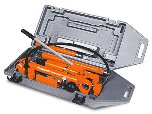 Stürmer Unicraft Karosserie Richtsatz (Presskraft 10 t, Zylinderhub 130 mm, Kunststoffkoffer mit Rollen) 6201205