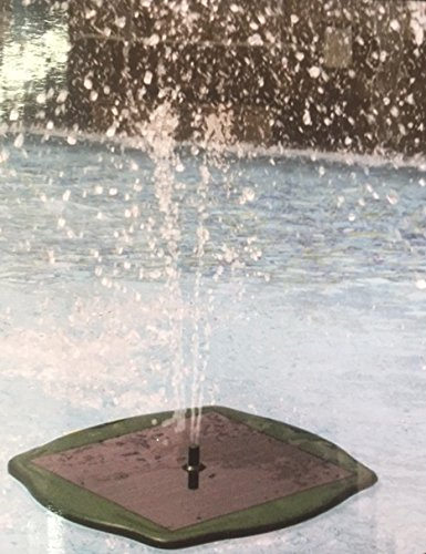 Solar-Springbrunnen ökologische–Wasserpumpe Solar und schwimmenden für Teiche, Teich oder See mit Jet-50cm