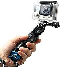 LENDOO Aluminium Einbeinstativ für GoPro, Erweiterbar Self Portrait Wasserdicht Selfie Stick Pole Handheld Monopod Pole für Go Pro HD Hero 5, Gopro