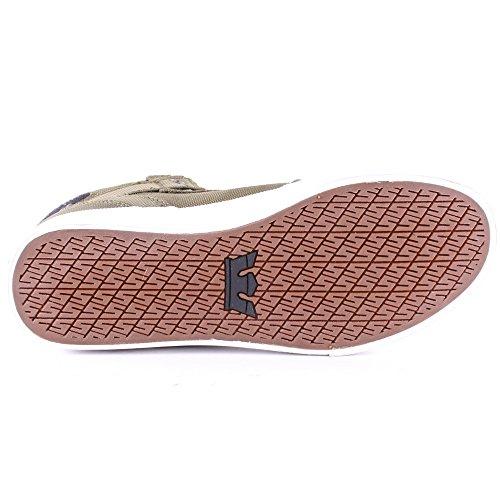 Supra Vaider, Sneakers Hautes mixte adulte Vert