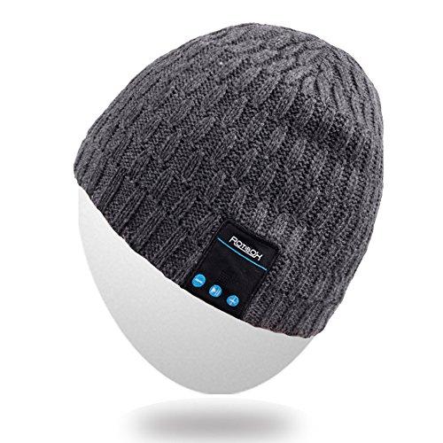 Cappello Beanie Bluetooth, Mydeal calda inverno morbida protezione del Knit