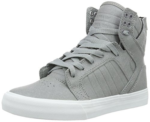Supra Herren Skytop High-Top Grau (GREY FIBREGLASS - WHITE 027)