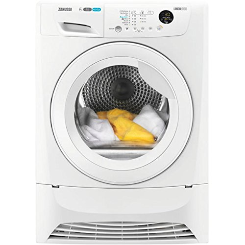 Zanussi zdh8333 W A + Freestanding 8 kg Front-Load White - Tumble Dryer (Freestanding, Front-Load, Condensation, 8 kg, B, 135 min)