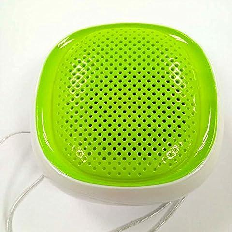 gujj Haut-parleur Bluetooth sans fil Bluetooth haut-parleur, 80,5* 80,5* 48,7mm