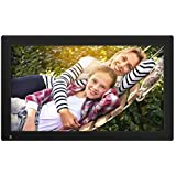 nixplay 18.5inch Wi-Fi Cloud Digital Photo Frame. iPhone & Android App, Email, Facebook, Dropbox, Instagram, W18A Google Photos