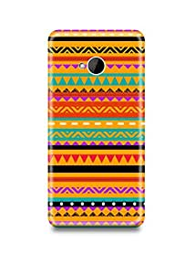 HTC M7 Cover,HTC M7 Case,HTC M7 Back Cover,Aztec HTC M7 Mobile Cover By The Shopmetro-6736