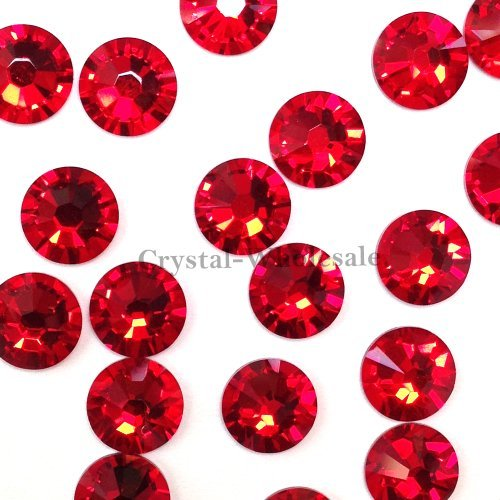 144-pcs-light-siam-227-swarovski-2058-xilion-new-2088-xirius-20ss-flat-backs-rhinestones-5mm-ss20-by